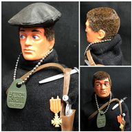 VINTAGE ACTION MAN  - FRENCH RESISTANCE FIGHTER - LAST ISSUE COMPLETE